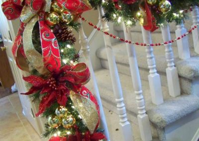 Holiday Decor Residential Gallery -residential holiday decorating