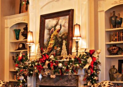 Holiday Decor Residential Gallery - residential holiday decorating