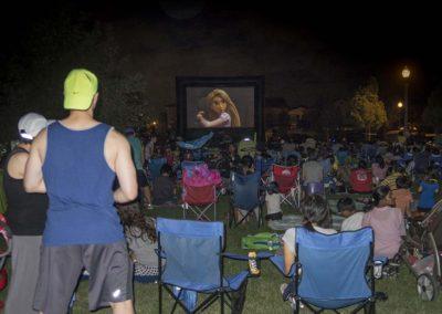 Community Events Gallery - community association movie night
