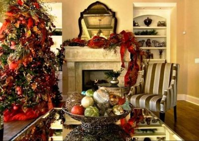 Holiday Decor Residential Gallery -residential holiday decorations